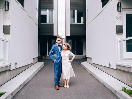 Mimi & Martin's Backyard Wedding   Ottawa, Canada