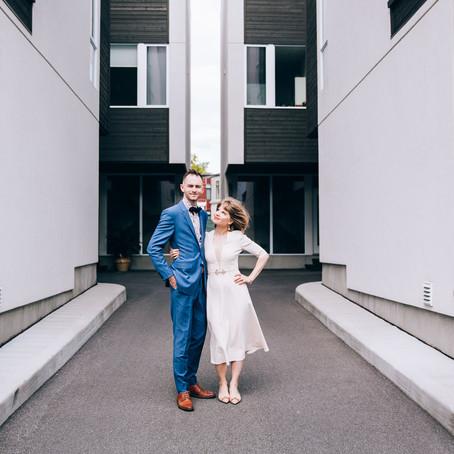 Mimi & Martin's Backyard Wedding | Ottawa, Canada