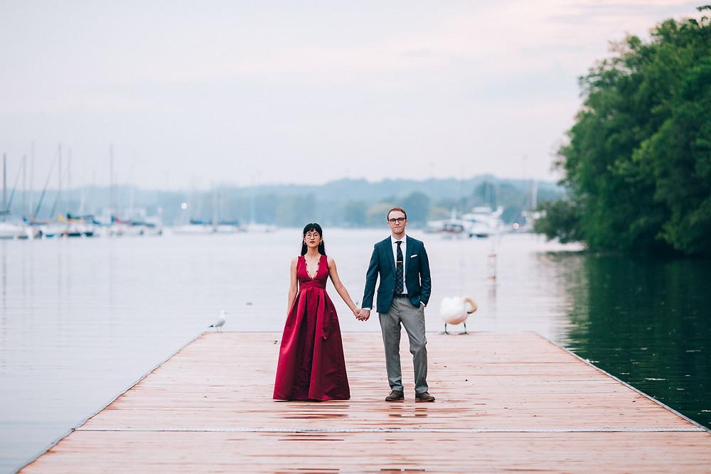 Toronto contemporary wedding photography