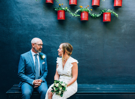 Meredith & Chris's Intimate Brooklyn Tavern Wedding | Leslieville, Toronto
