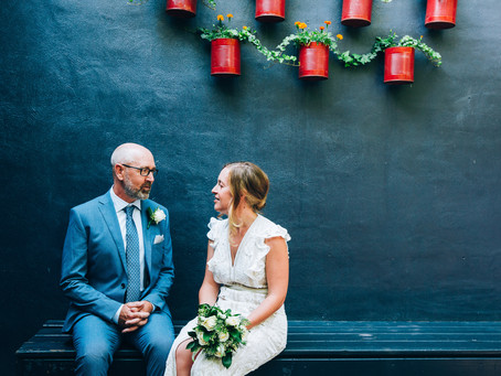 Meredith & Chris's Intimate Brooklyn Tavern Wedding | Leslieville, Toronto