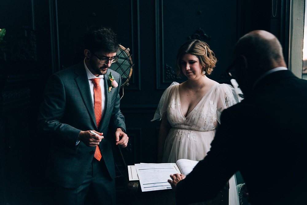 Mint Studio elopement Toronto