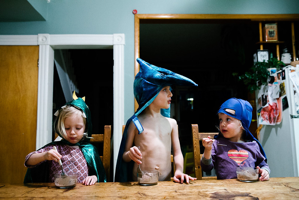 contemporary family photography