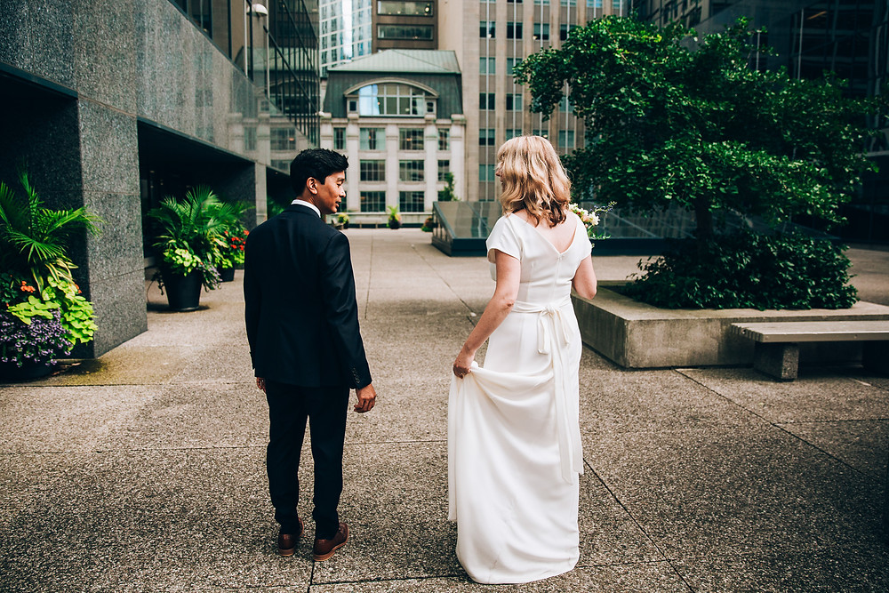 Downtown Toronto wedding photograhy