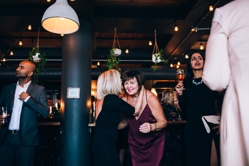 Boxcar social wedding
