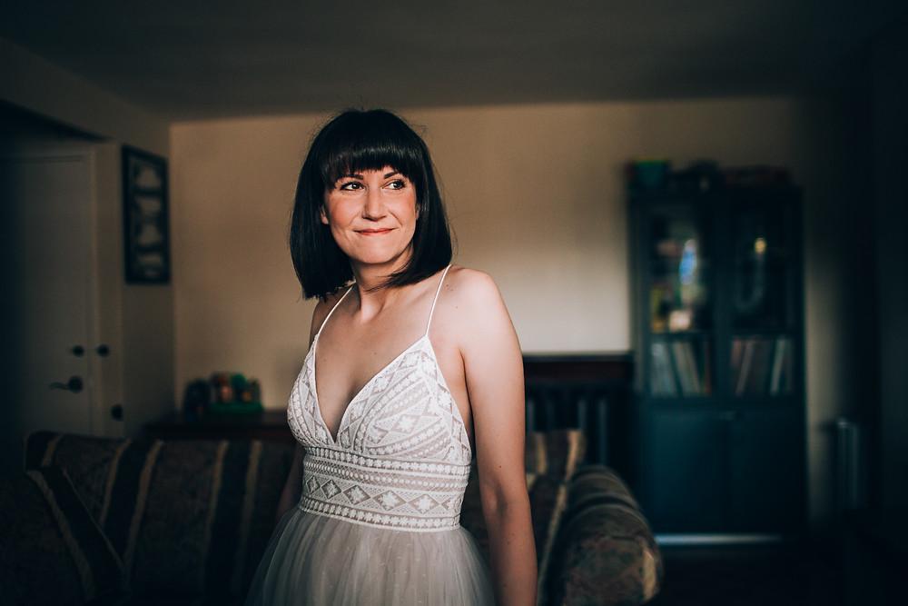 Toronto doily crochet wedding dress