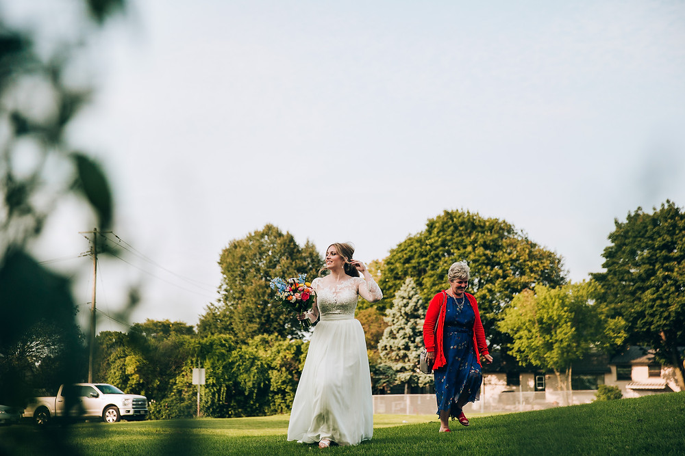 Outdoor covid wedding Toronto