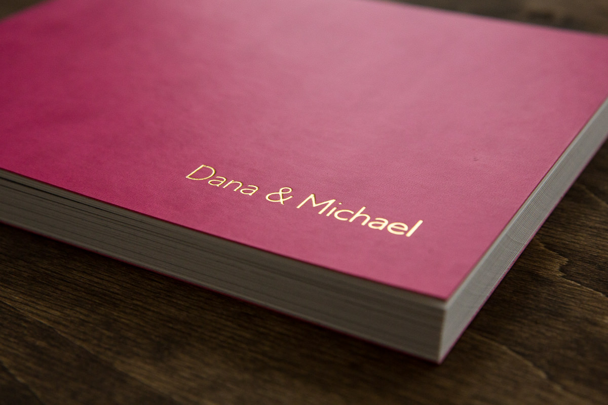 custom wedding album