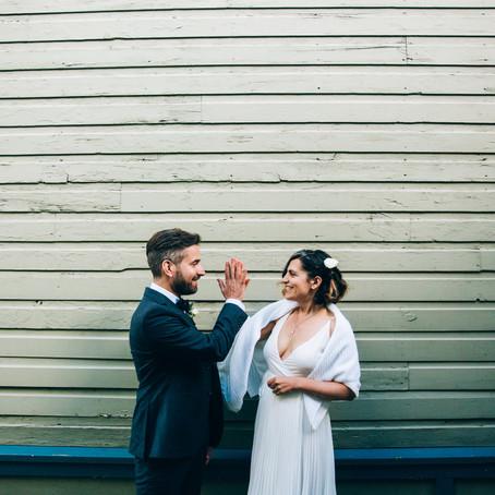 Samantha & Peter's Toronto Island Wedding | Artscape Gibraltar Point