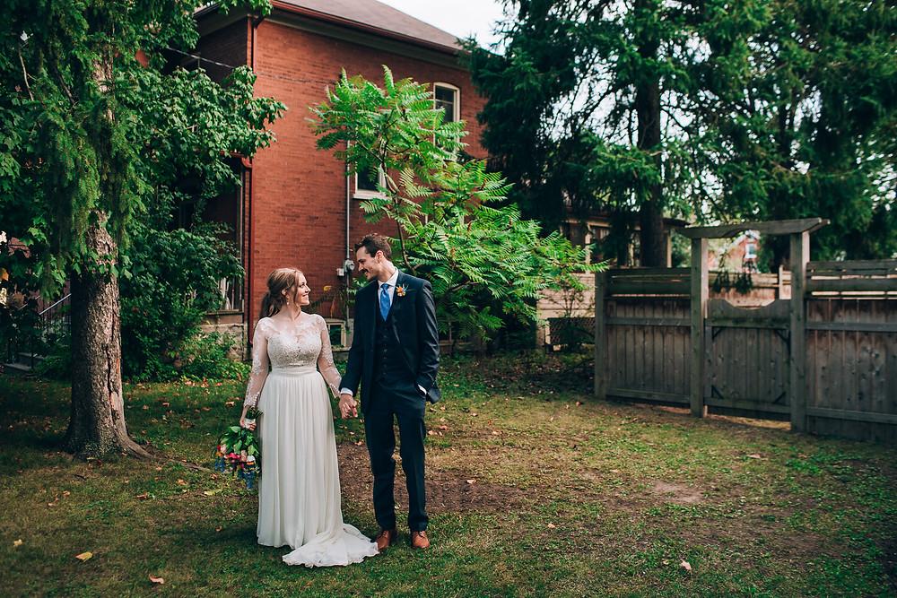 Intimate weddings outdoor Toronto