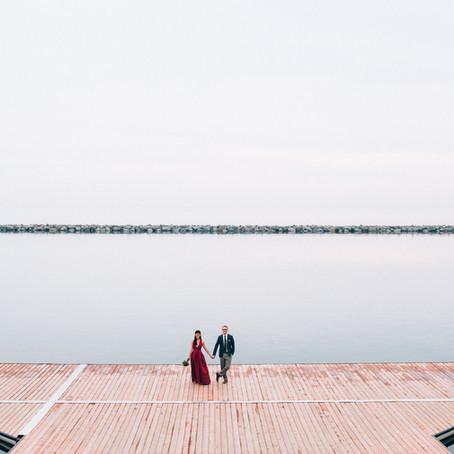 Sennah & Adrian's Argonaut Rowing Club Wedding   Toronto, Canada