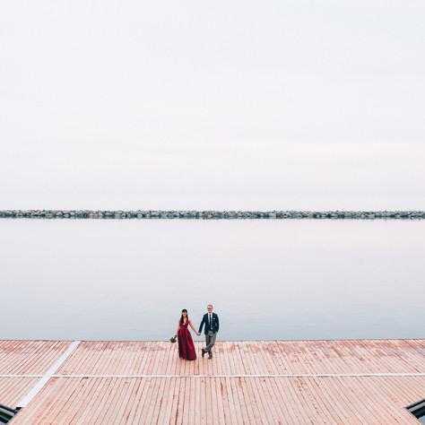 Sennah & Adrian's Argonaut Rowing Club Wedding | Toronto, Canada