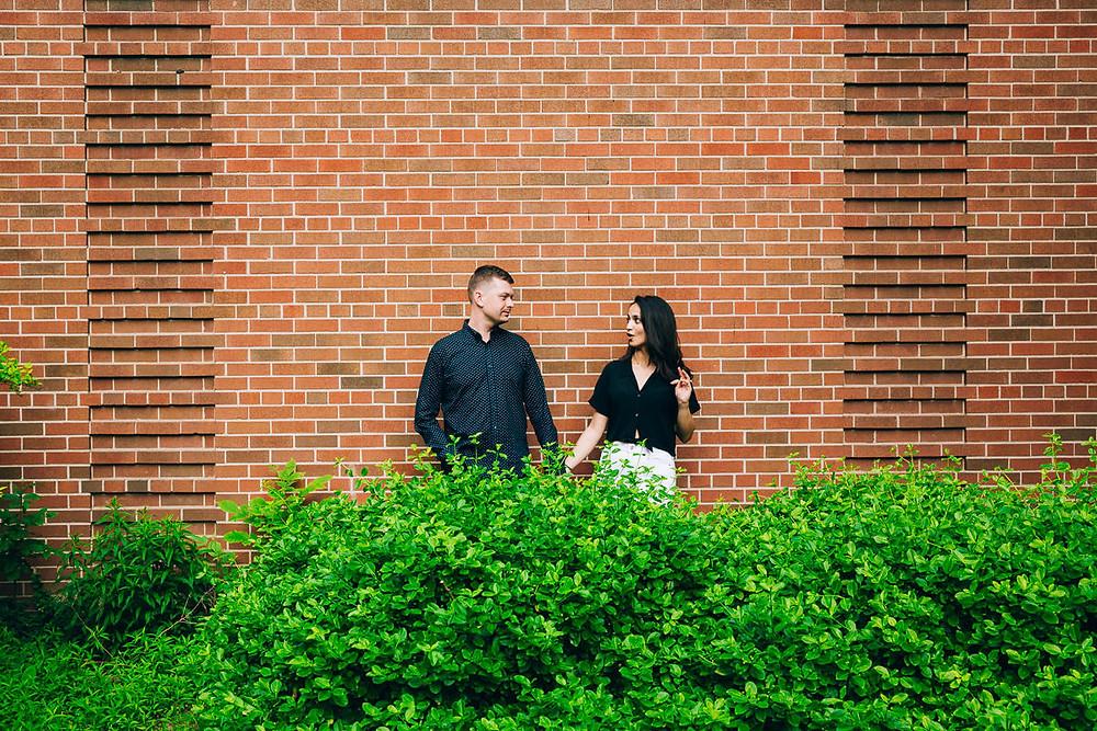 funny engagement photoshoot