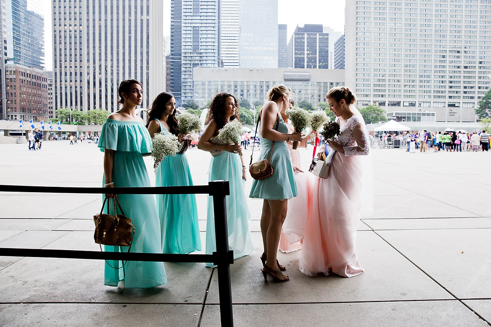 Getting married at Toronto city hall