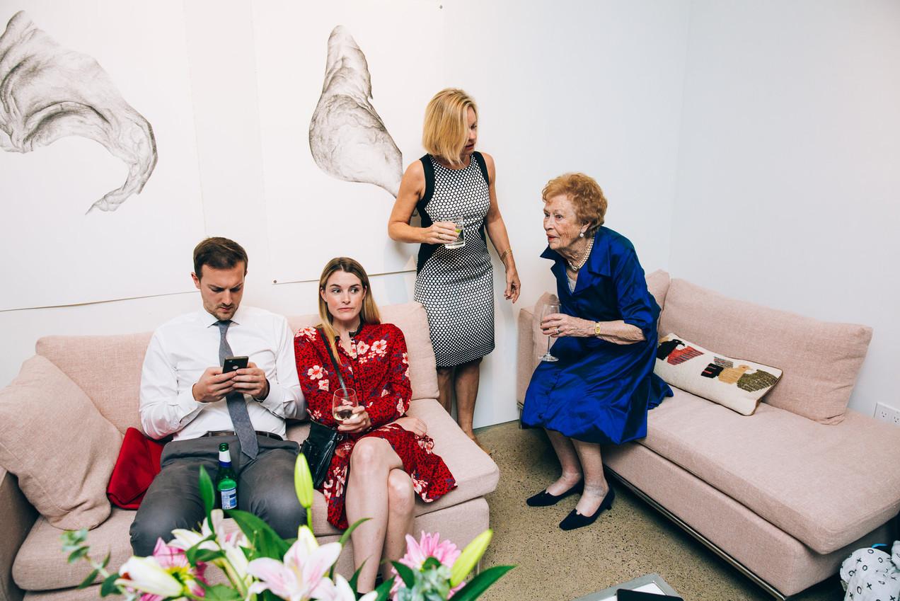 Contemporary Art Gallery Wedding Toronto