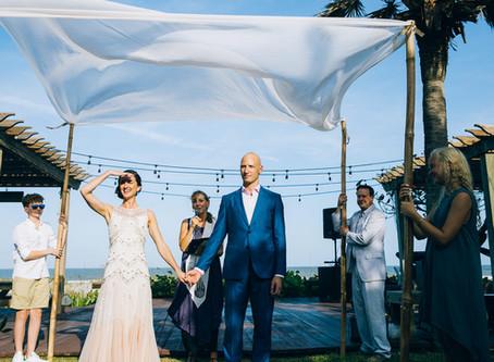 Dana & Michael's Cocoa Beach Wedding | Florida