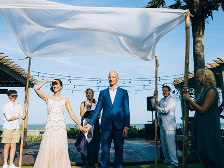 Dana & Michael's Cocoa Beach Wedding | Florida
