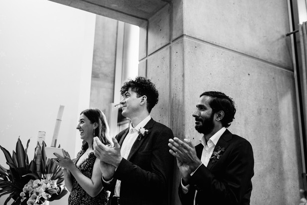 Toronto city hall wedding chapel