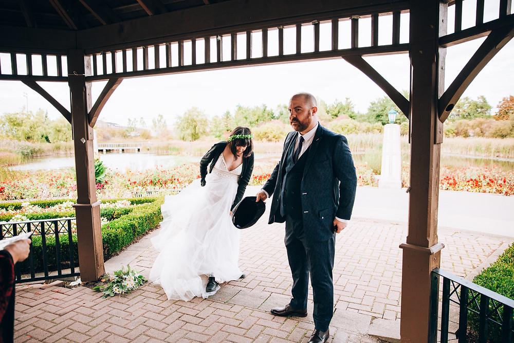 Toronto park wedding