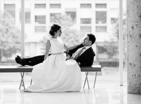 Irina & Igor's Wedding Portraits | University of Toronto