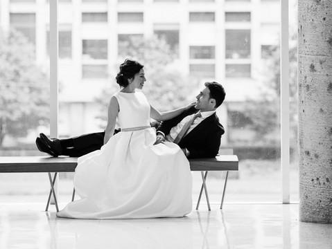 Irina & Igor's Wedding Portraits   University of Toronto