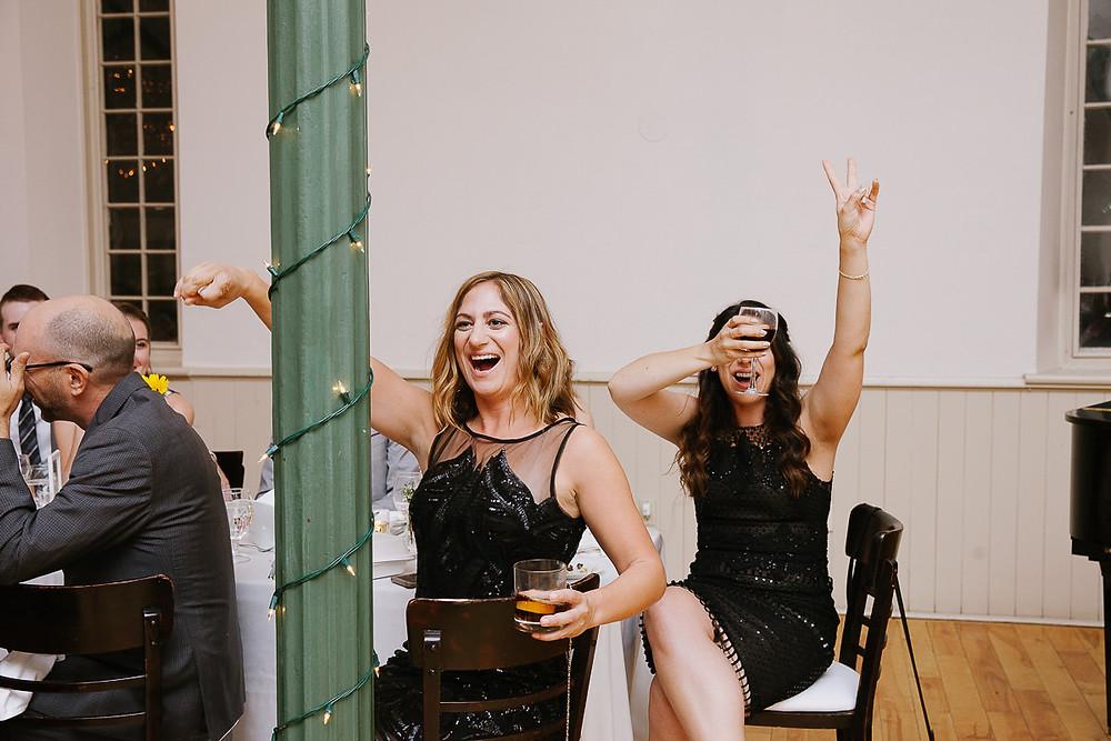 wild wedding guests