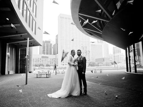 Lily & Deniz's Toronto City Hall Wedding