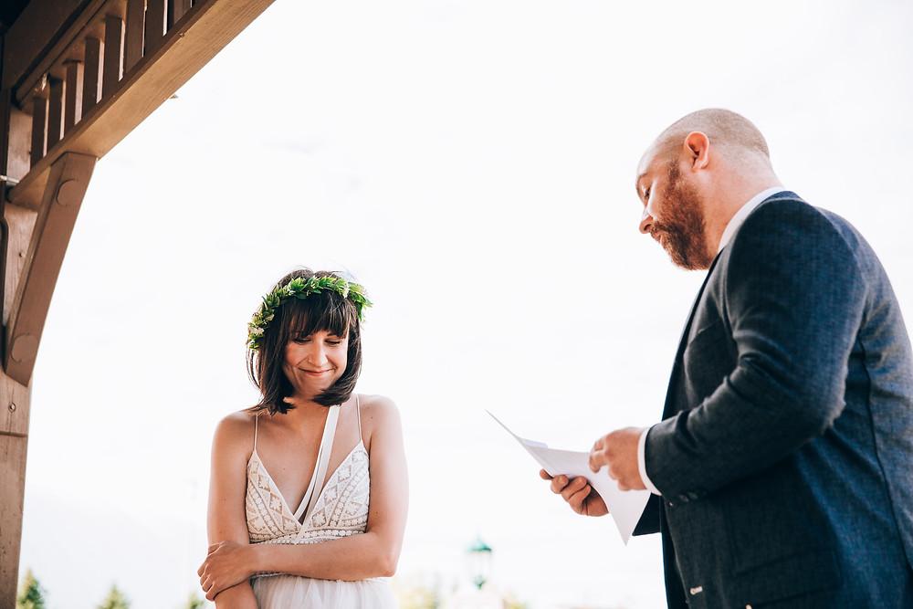 Toronto intimate outdoor wedding
