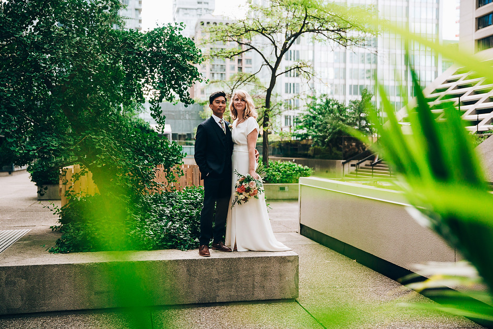 Downtown Toronto wedding photos