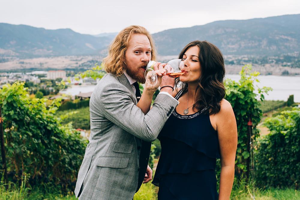 winery wedding okangan