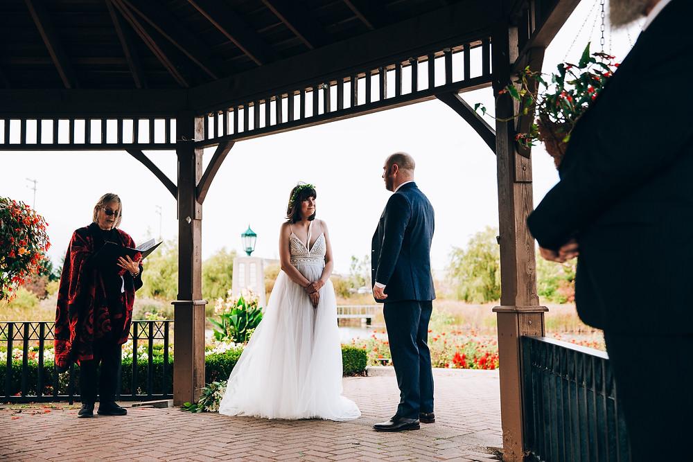 Richmond green park wedding