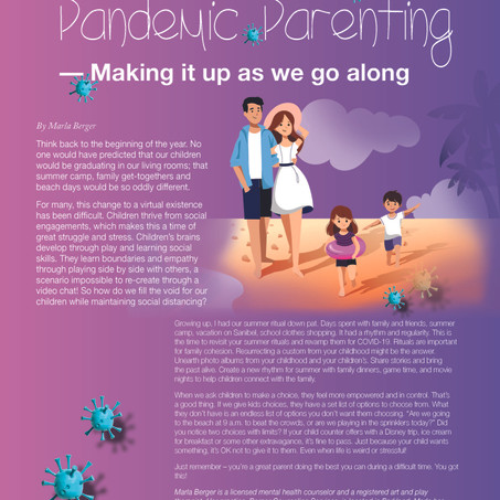 Pandemic Parenting - Making it up as we go along