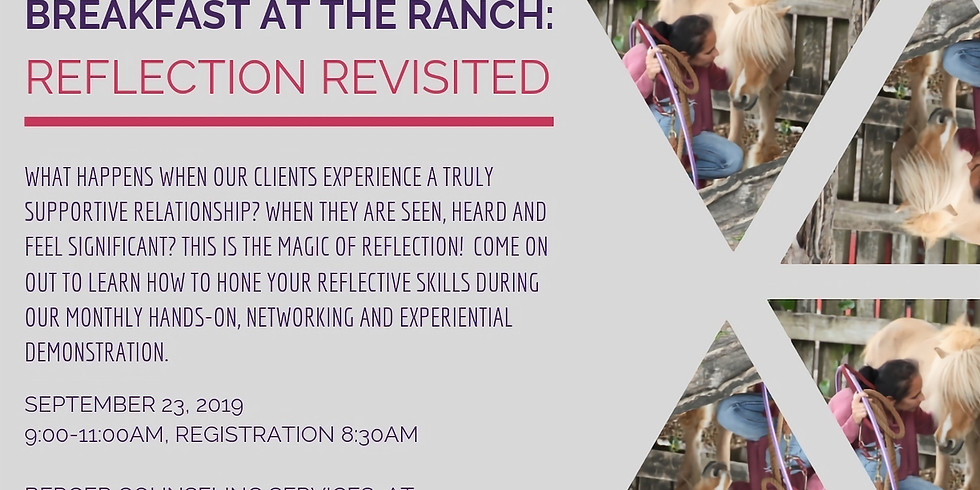 Breakfast At The Ranch: Reflection Revisited