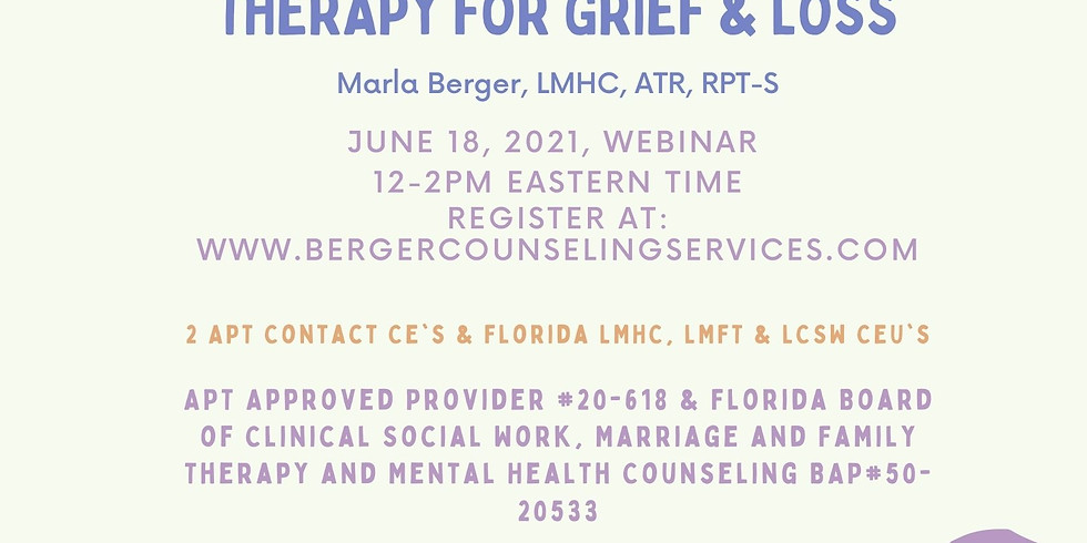 Culturally Competent Play Therapy for Grief & Loss