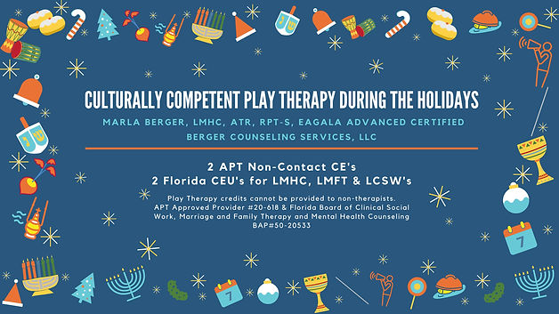 Culturally Competent Play Therapy During