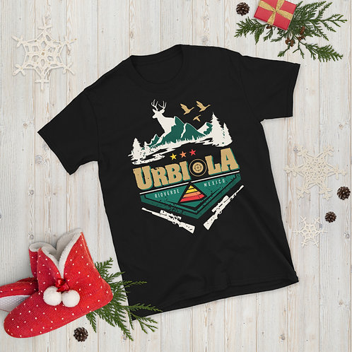 Camiseta de manga corta unisex Cacería