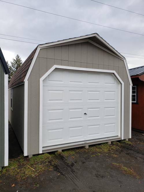 12x24 High Side Barn Garage Package