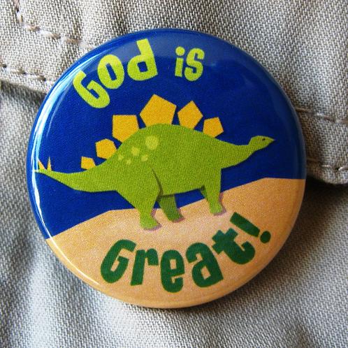 Pin badge - Dinosaur