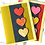 Thumbnail: Hearts handmade greeting card (assorted)