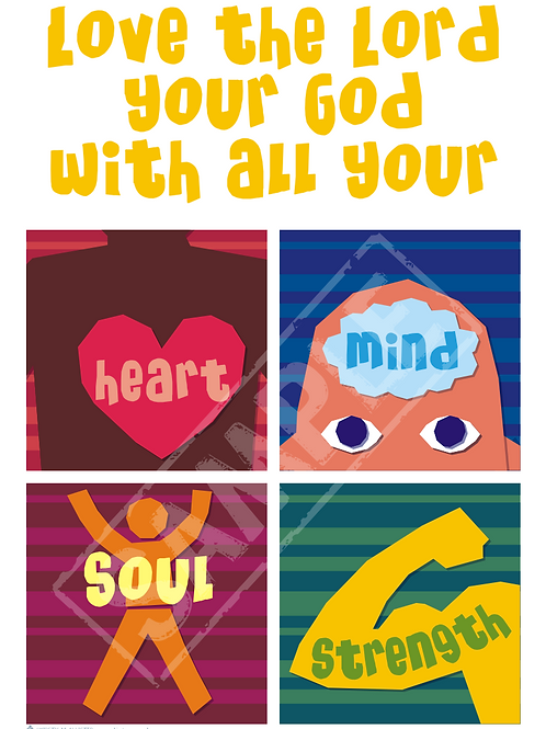 Love the Lord printable poster