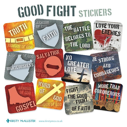 Good Fight stickers