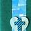 Thumbnail: Cross & heart handmade greeting card (assorted)