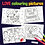 Thumbnail: Love themed colouring pictures