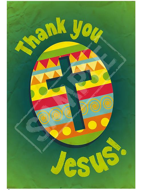 Easter egg printable poster