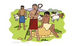 Shepherds at the well