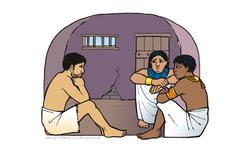 Joseph in prison