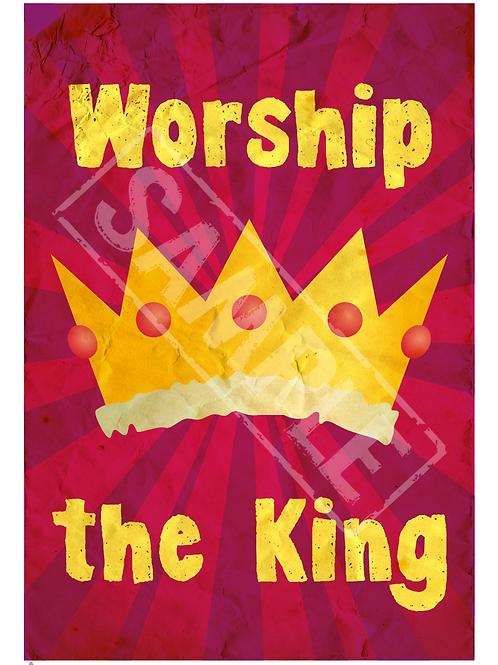 Crown printable poster