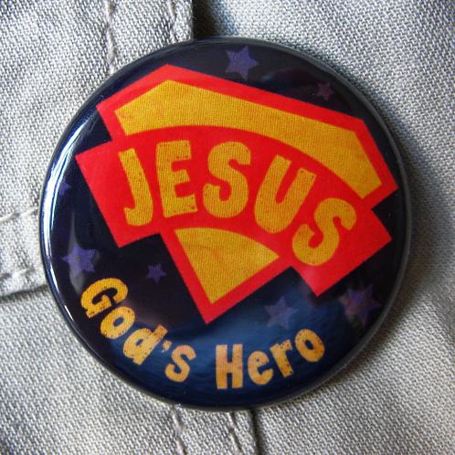 Pin badge - Superhero