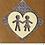 Thumbnail: Couple handmade greeting card (assorted)