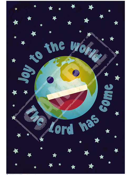 World printable poster